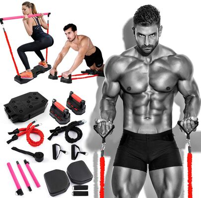 10. Proud Panda Portable Home Gym Equipment