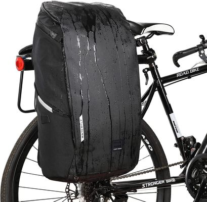 3. WATERFLY Bike Travel Backpack with Rain Cover- 25L Capacity