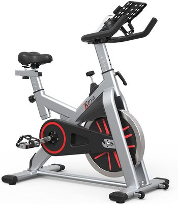 9. TRYA Indoor Cycling Bike with a Thickened Frame