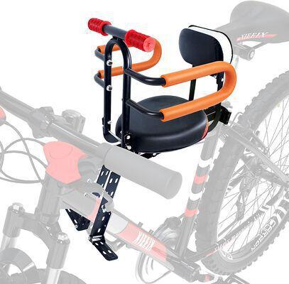 9. XIEEIX Front Mount Kid Bike Seats